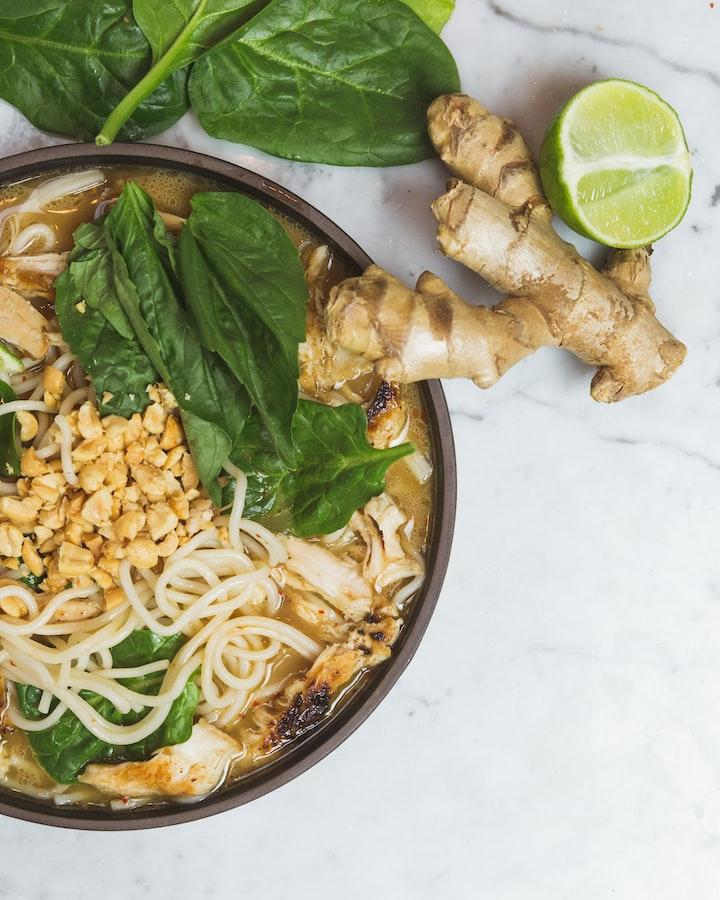 Eating Thai