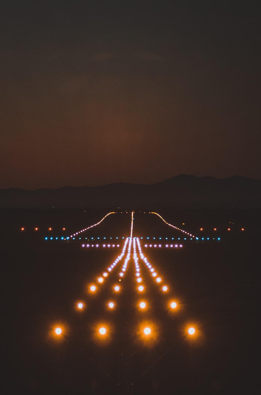 assorted-color lights
