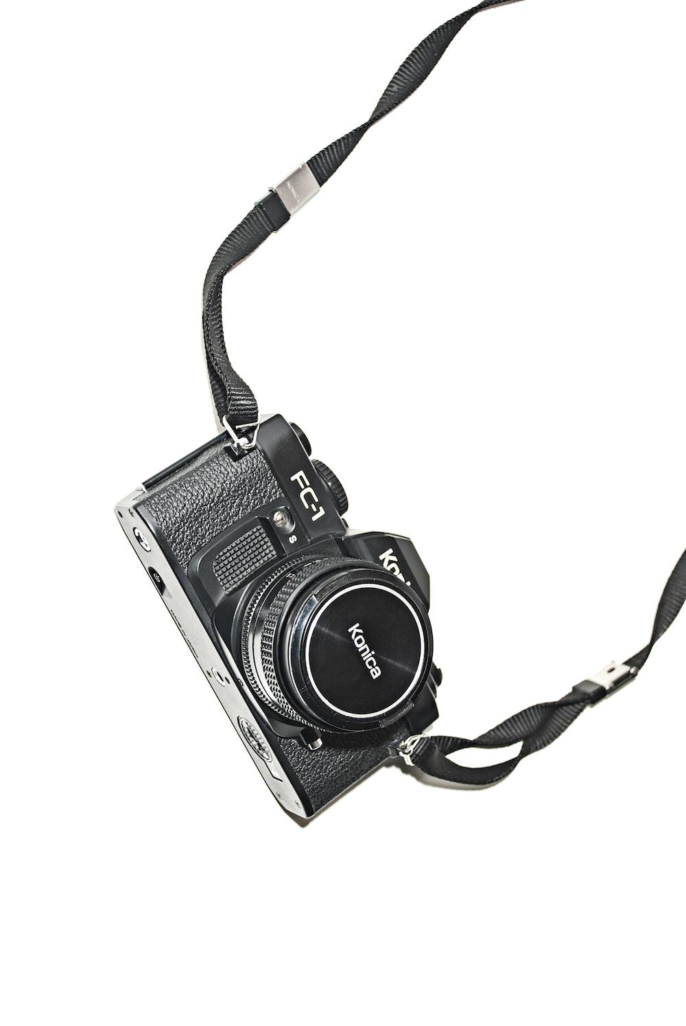 black Kodan Konica camera