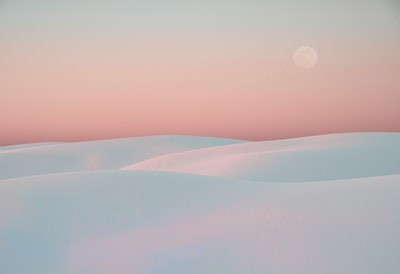 Taken near sunset at White Sands National Monument, New Mexico, USA