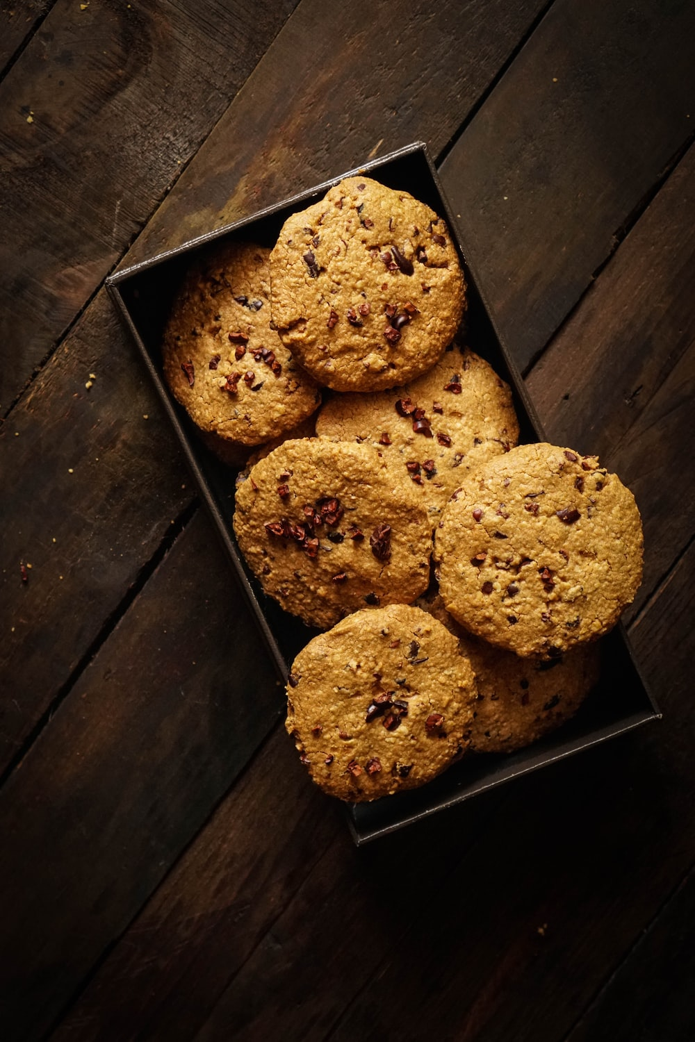 cookies on the box