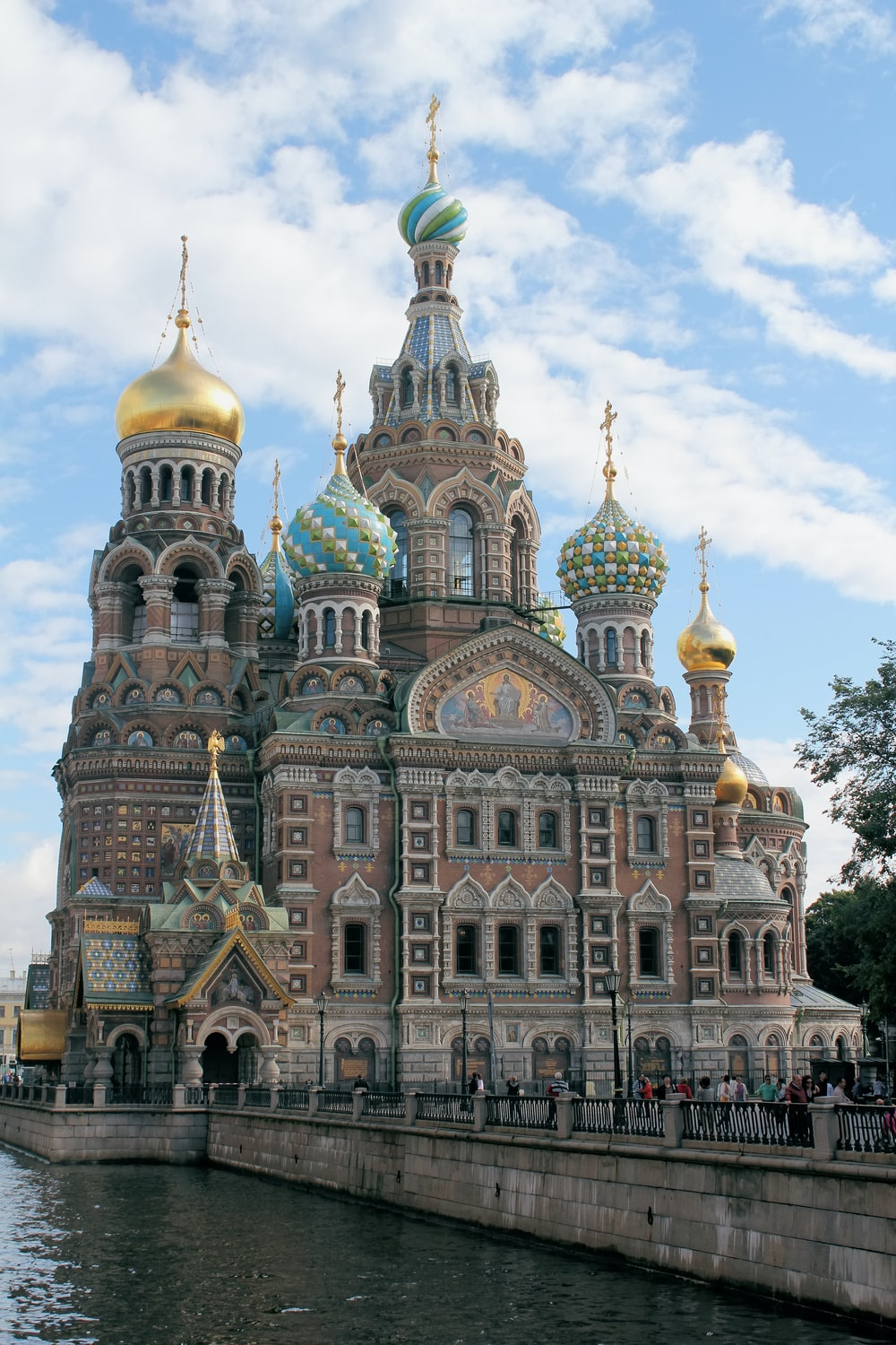 The Church Of The Savior On Spilled Blood Saint Petersburg