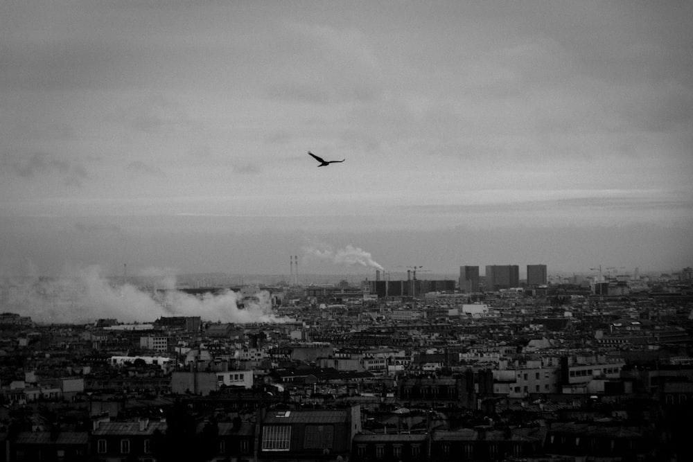 aerial photo ofcity