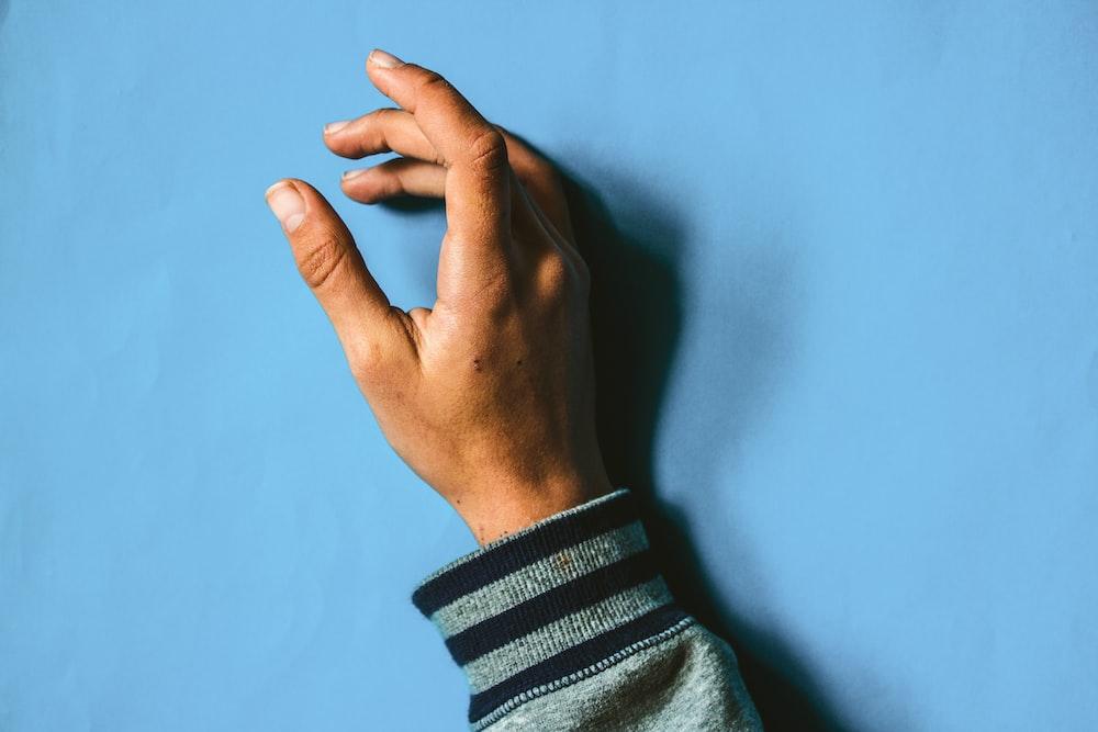 person hand