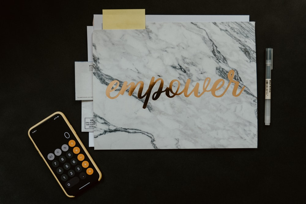 Empower wall decor