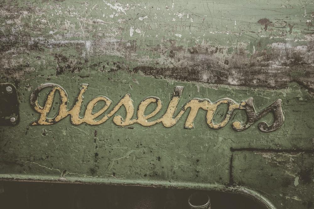 Dieselross product label