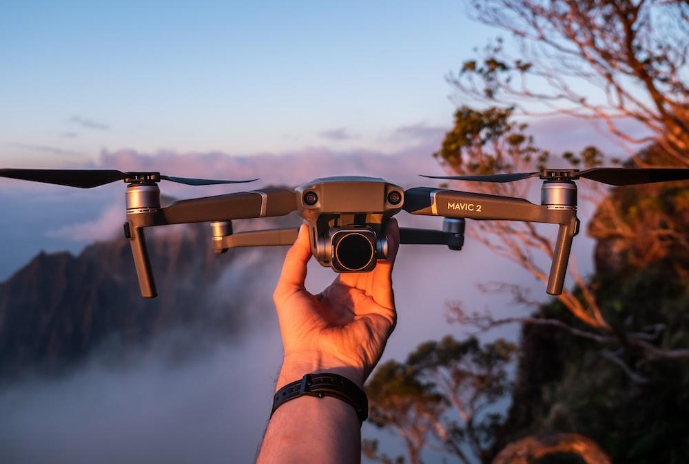 gray drone
