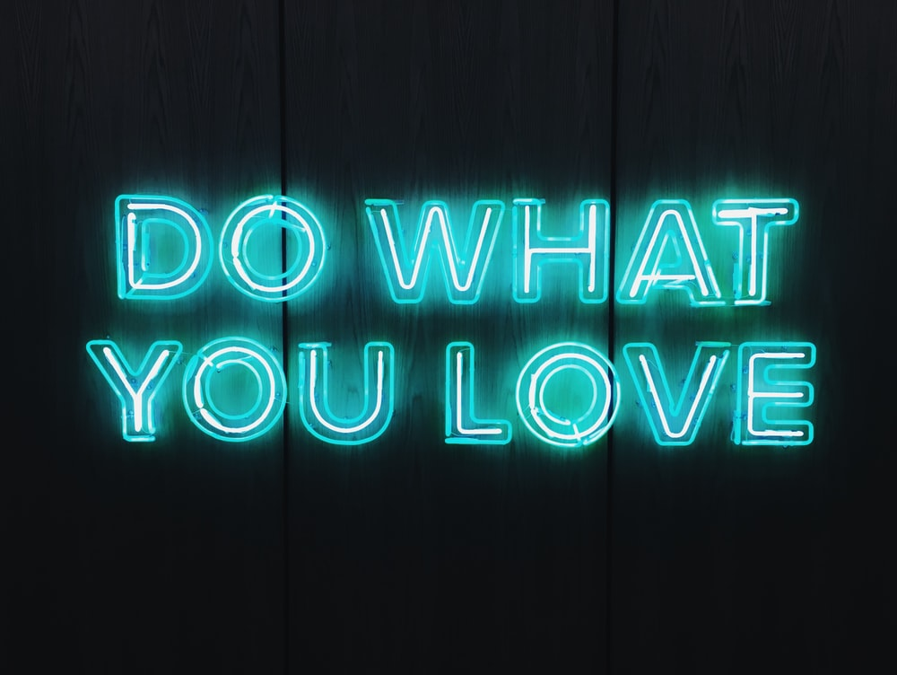Do What You Love text