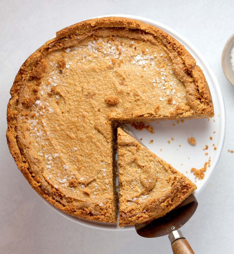 Pie with a slice missing