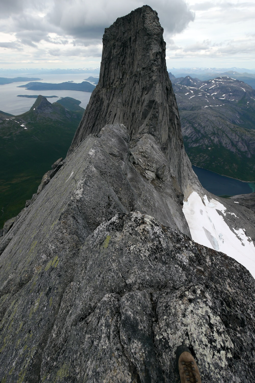view of rocky mountain peak