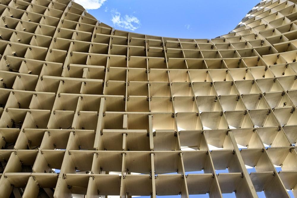 beige architectural design