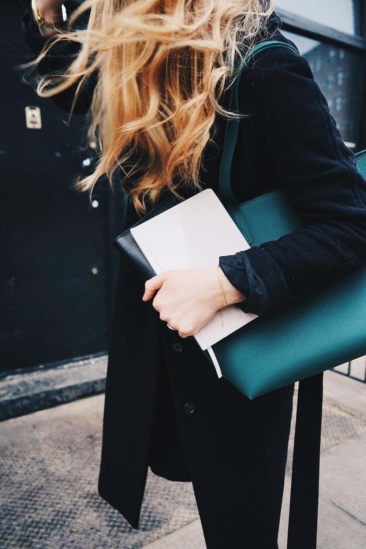 woman carrying bag