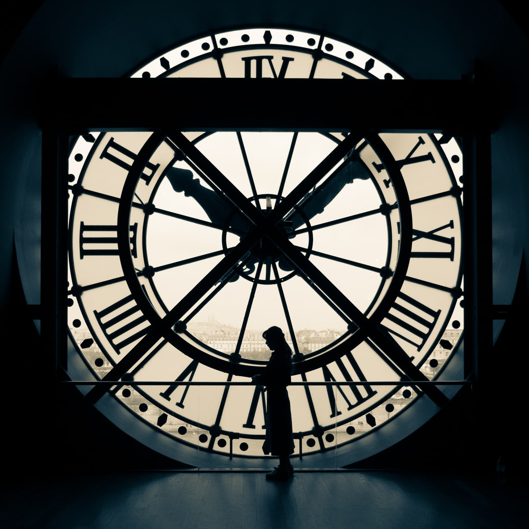 Clock at Musee d'Orsay Paris