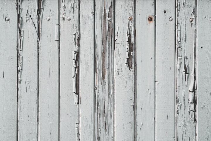 Faded Fence