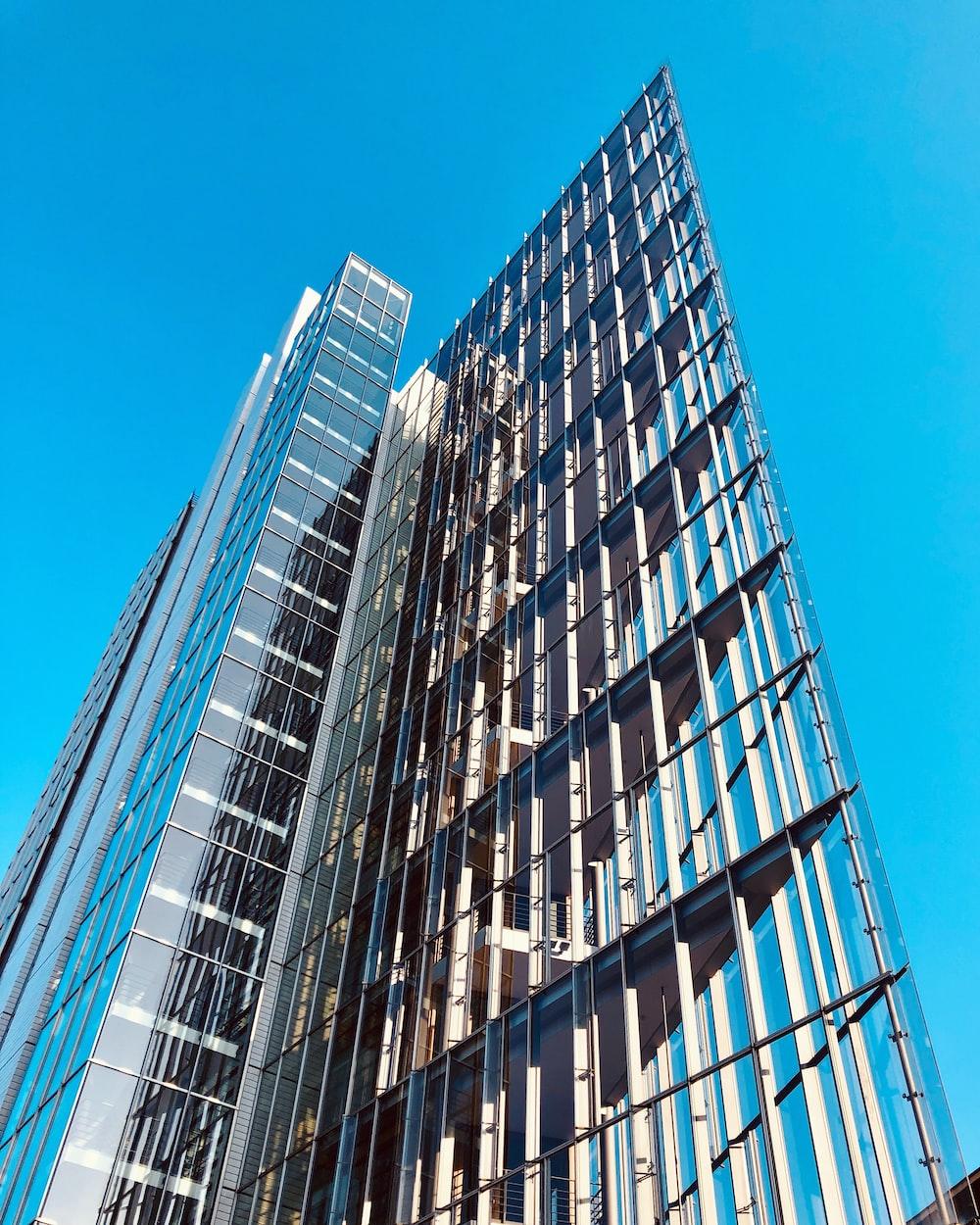 high-rise concrete buildings