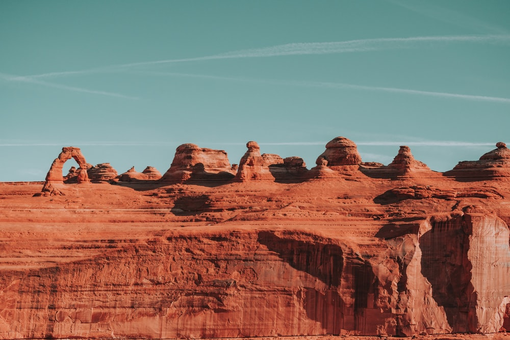 landscape photography of Grand Canyon during daytime