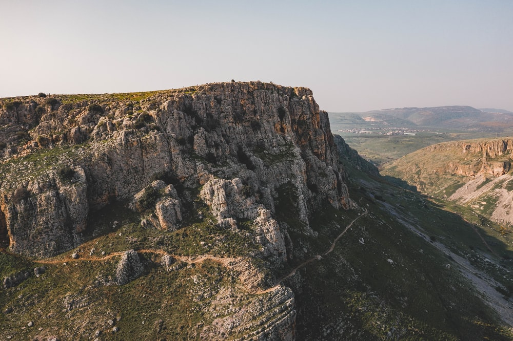mountain cliff photography