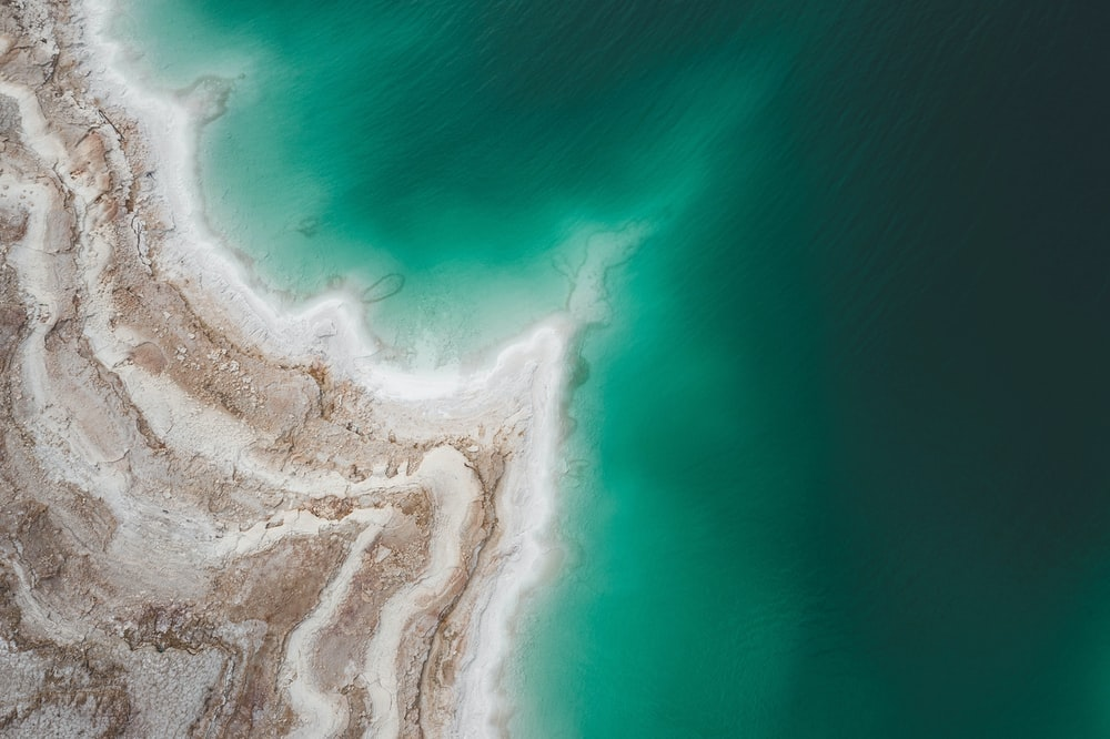 bird's eye view of sea