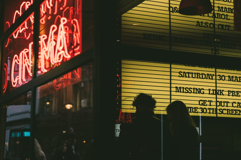 Cinema shop front