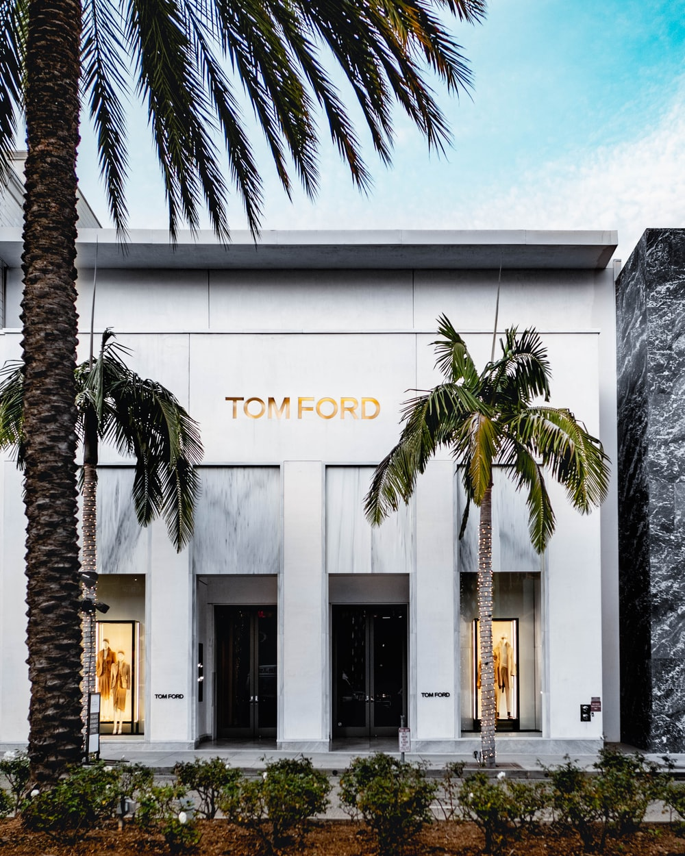 Tom Ford building at daytime