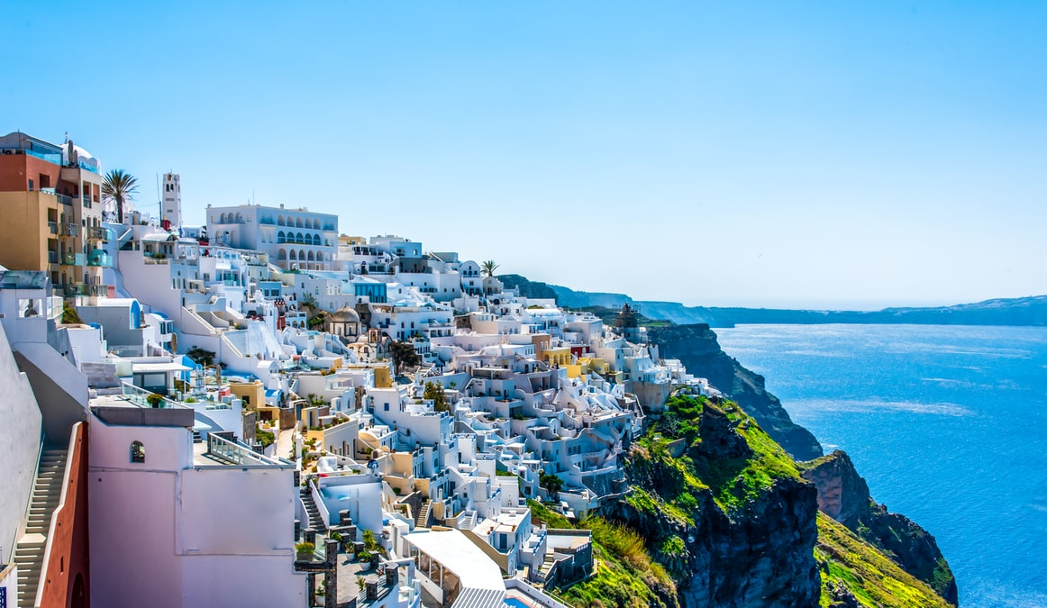 Santorini, Places to visit in Greece in October