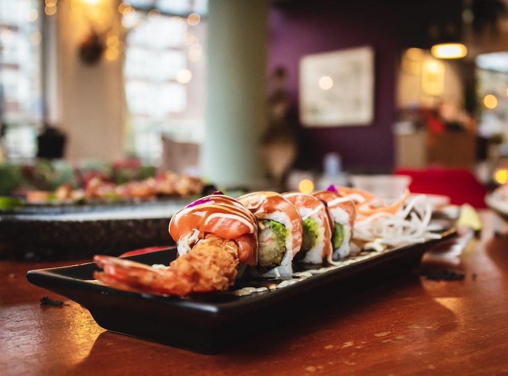 shrimp dish on plate