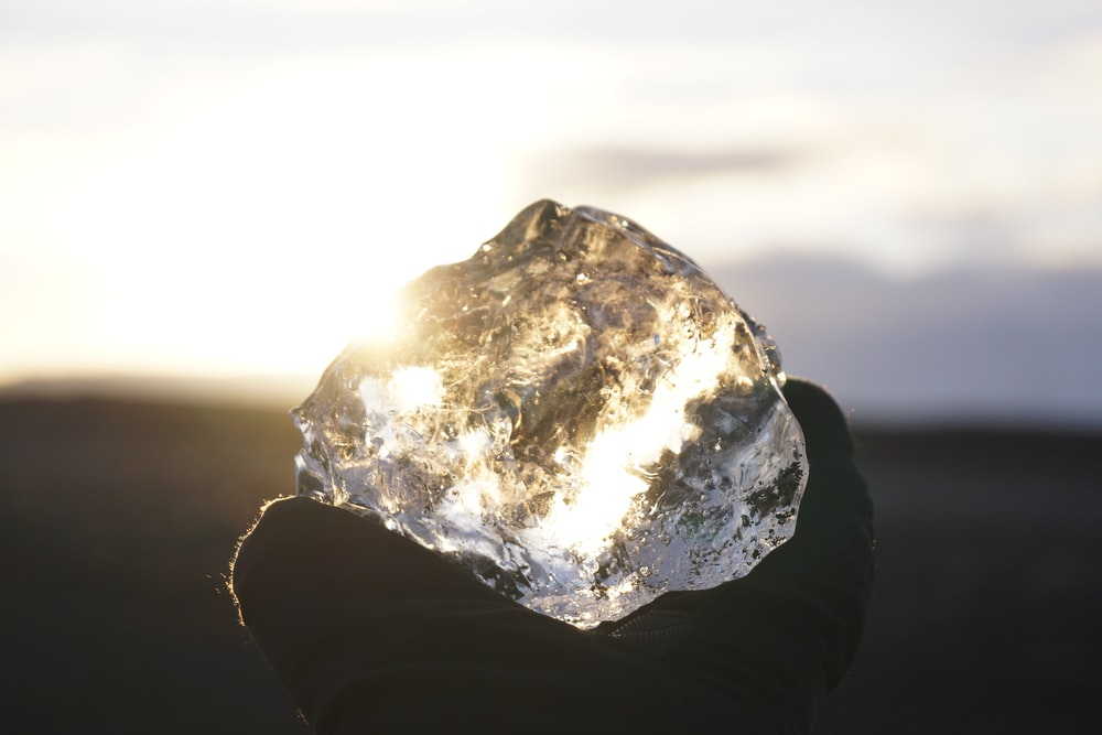 clear crystal stone