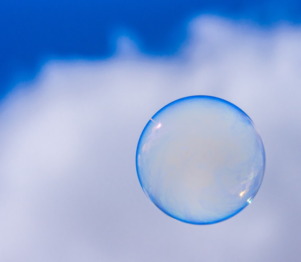 blue bubble