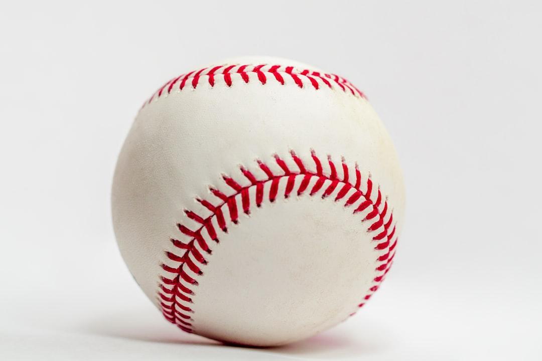 Clean unused baseball.