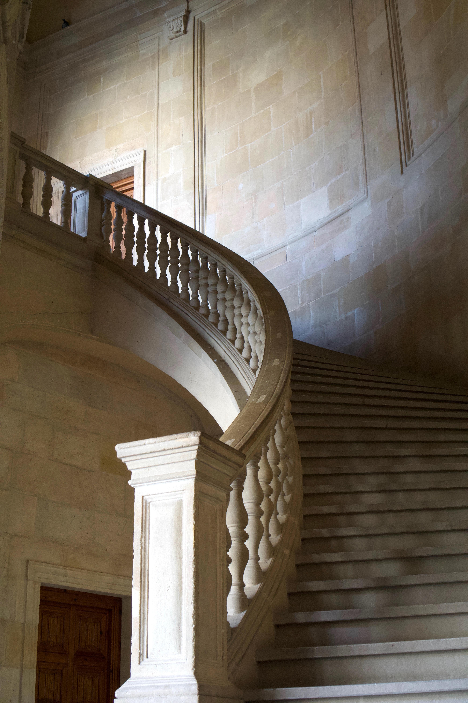 beige stair paint