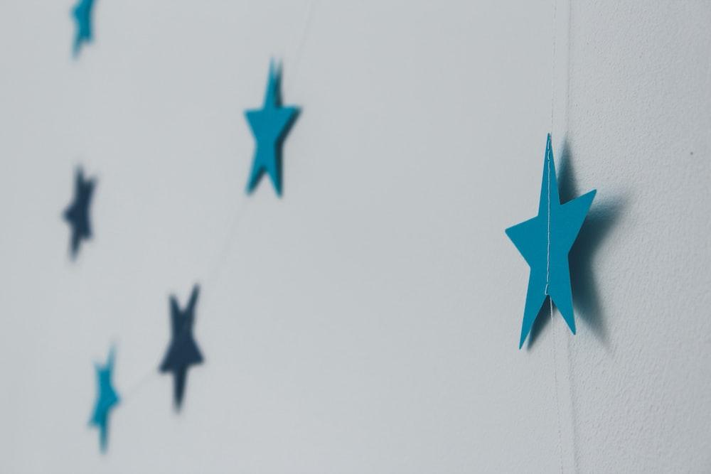 blue star decors