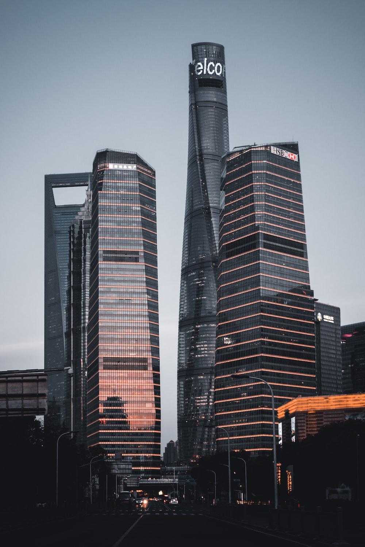 three Telco building