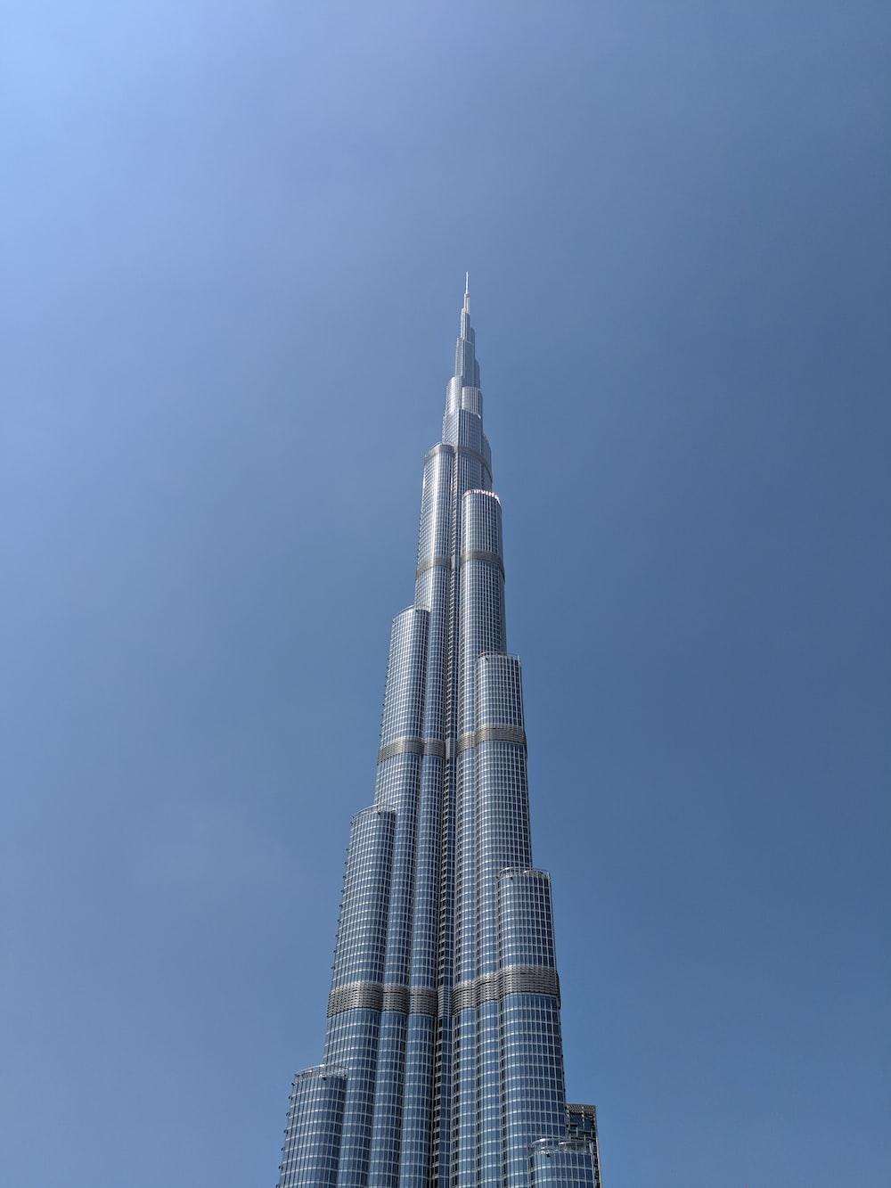 grey high rise tower