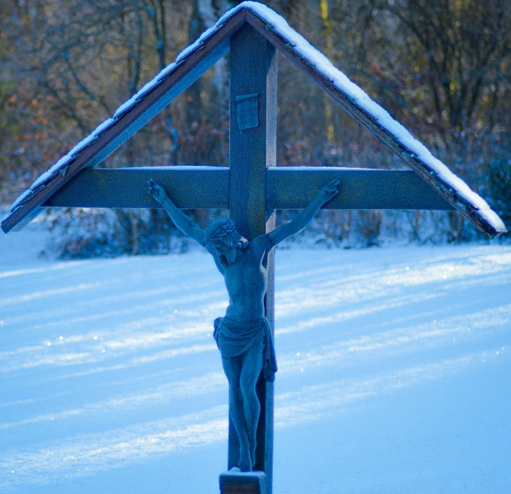 crucifix display