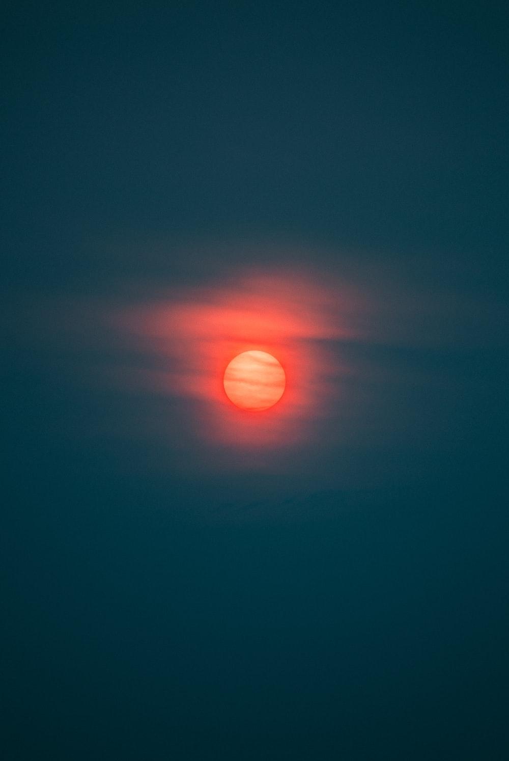 yellow and orange sun