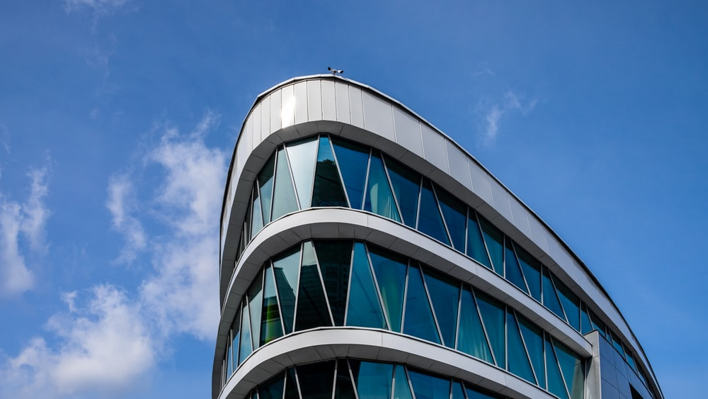 architectural photography of high rise building