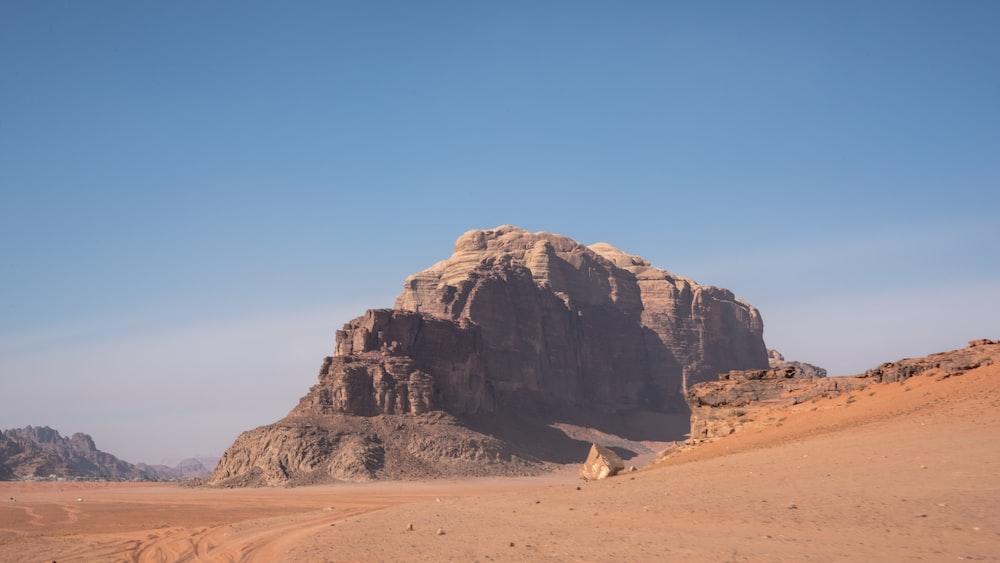 desert at daytim