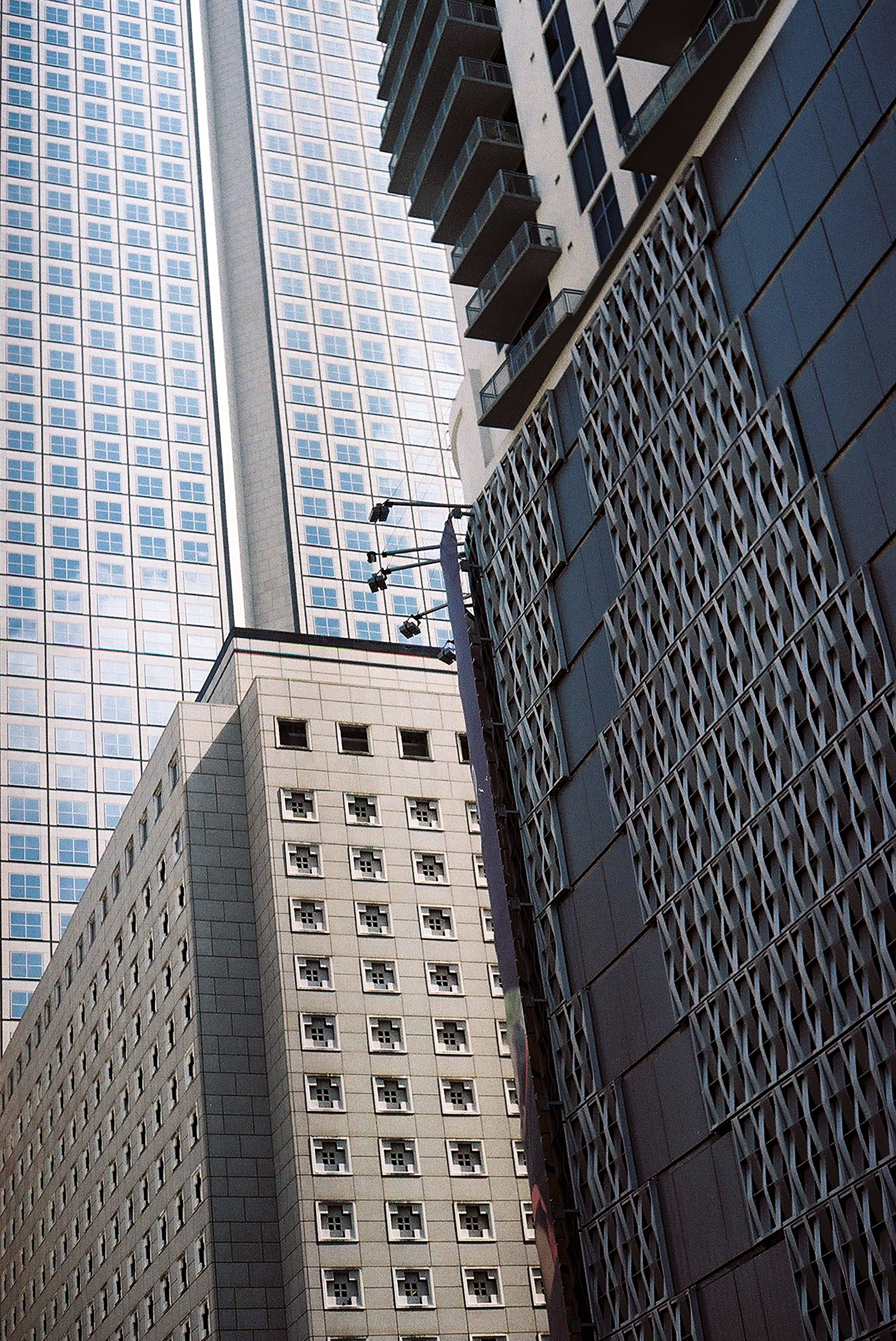 high-rise buildings on focus photography