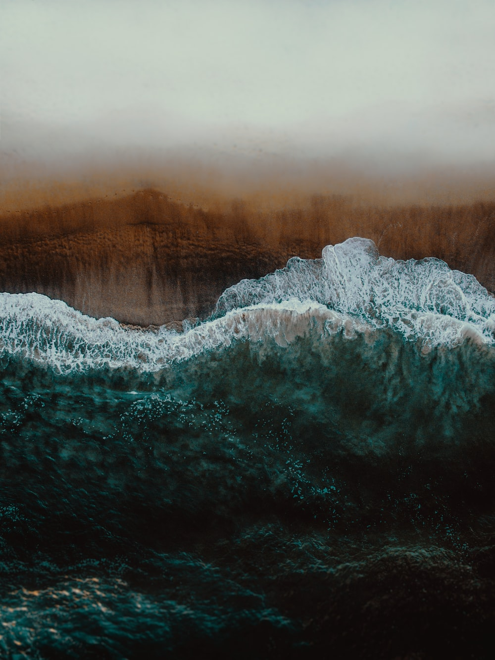 wave of water painting