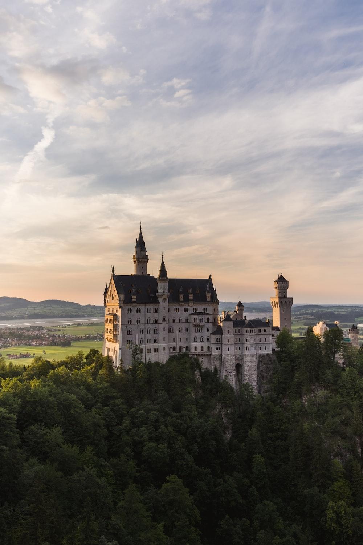 Neuschwanstein castle during day time