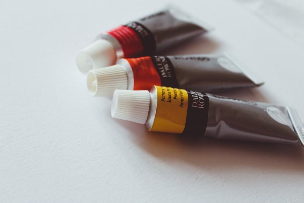3 soft tubes