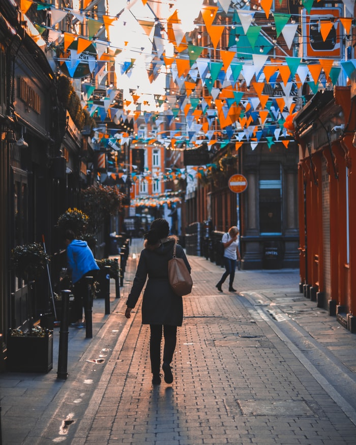 Dame Lane in Dublin