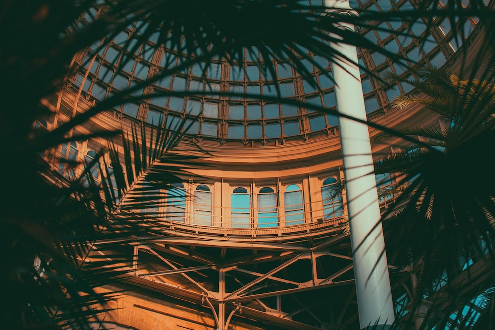 brown and glass building dome