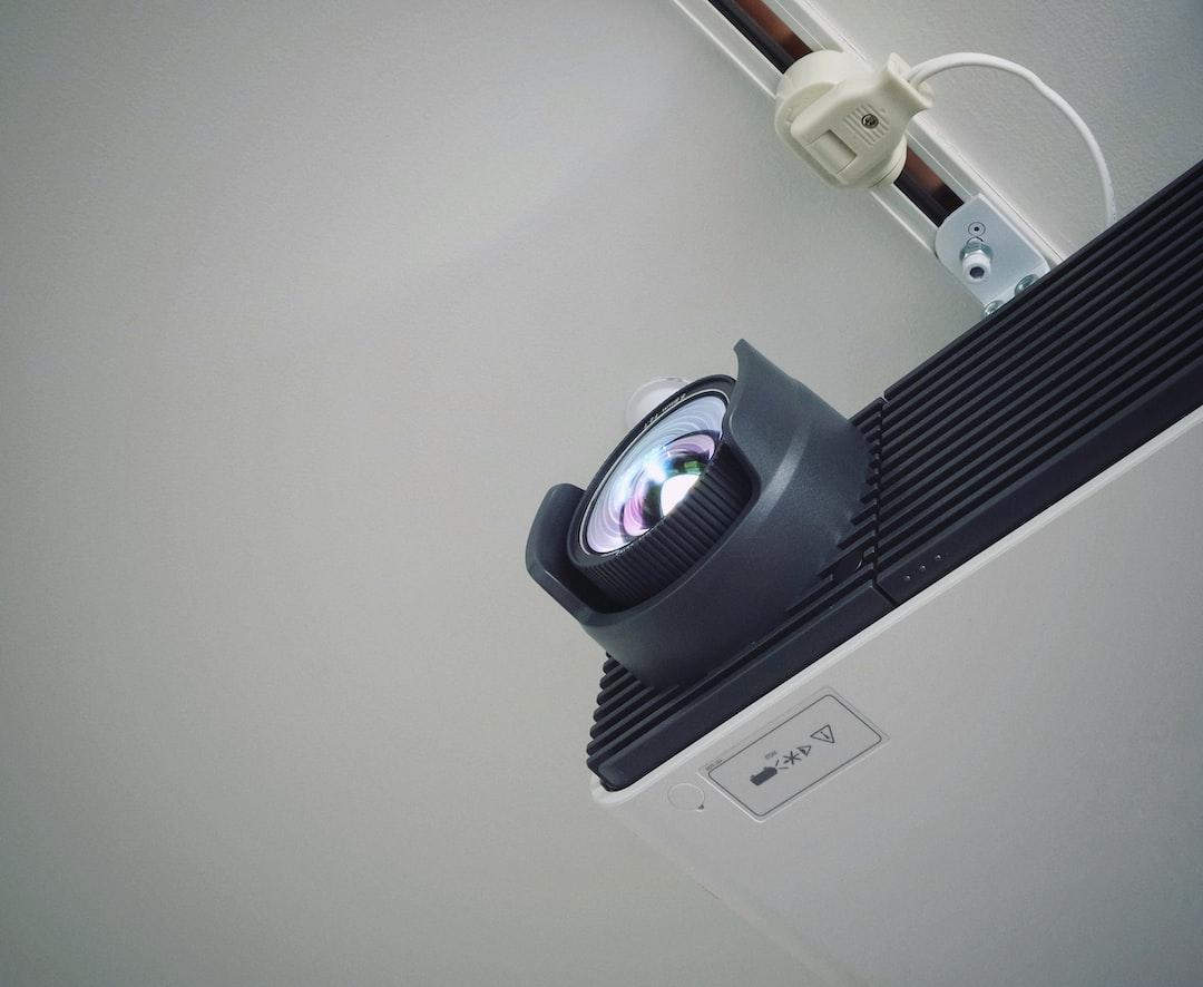 Purple Eye In The Meeting Room