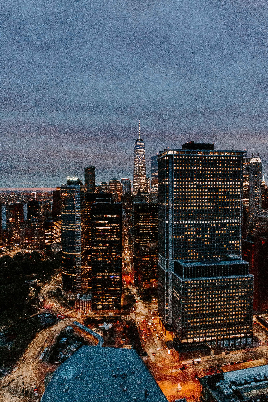 aerial photography of metropolitan area