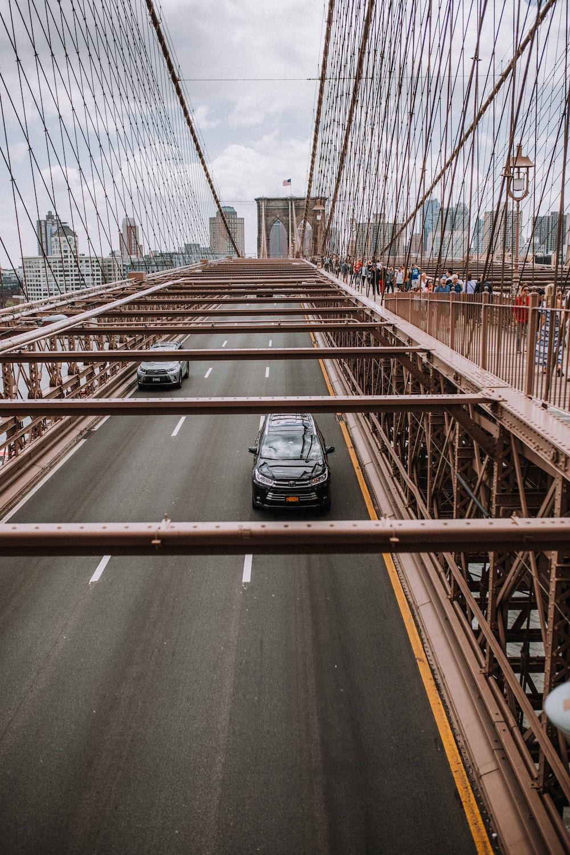 landscape of the Golden Bridge in New York