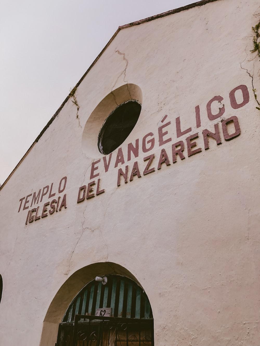 brown concrete Templo Evangelico Iglesia Del Nazareno church