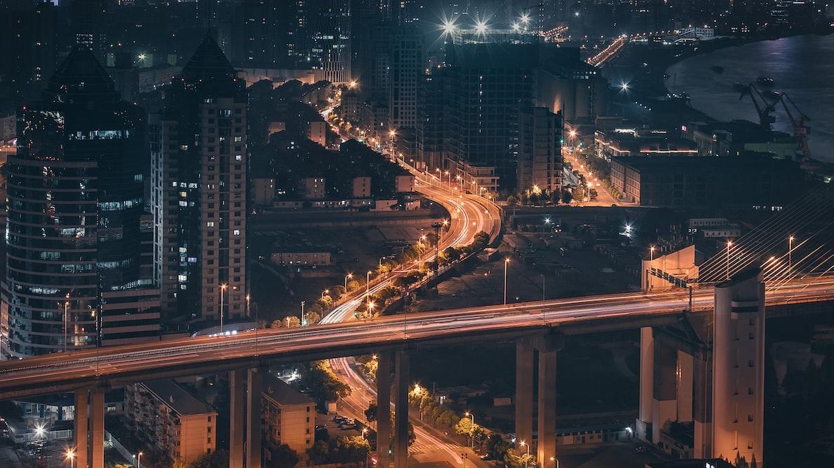 traffic road interchange