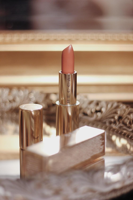 beige Becca lipstick