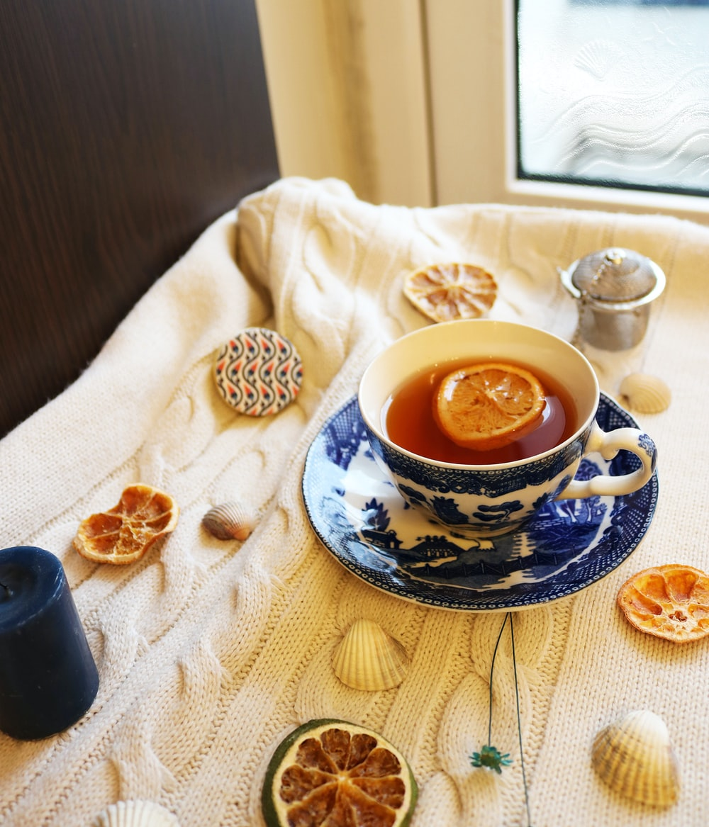tea in teacup